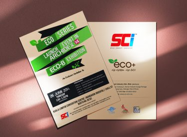 Postcard invitation (SCI Cabinet Industry)